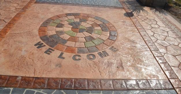 Pavimenti In Cemento Stampato : Cemento stampato cemento stampato roma pavimenti esterni pavimenti